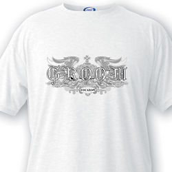Epic Design Custom Groom T-Shirt