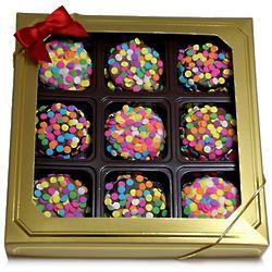Confetti Decorated Oreo Cookie Gift Box