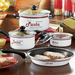 7-Piece Italian Language Cookware Set