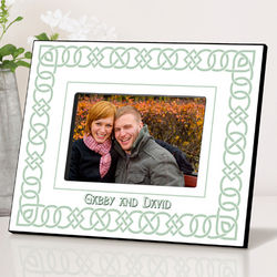Personalized Irish Linen Picture Frame