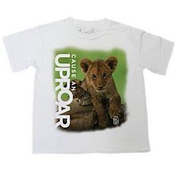 African Lion Cub Cause an Uproar T-Shirt