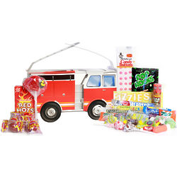 Fire Truck Candy Gift Box