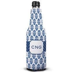 Navy Blue Beti Personalized Bottle Koozie