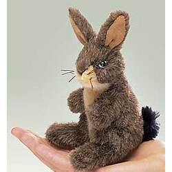 Jack Rabbit Finger Puppet