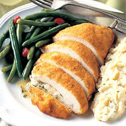 Chicken Kiev Combo Meal