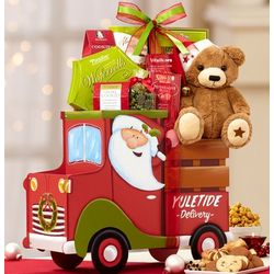 Santa's Holiday Truck with Jingle Bear