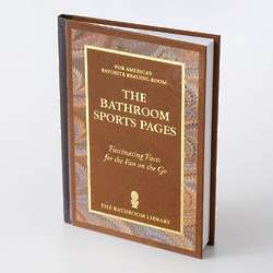 Bathroom Sports Pages Book