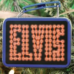 Elvis Presley Lunch Box Ornament