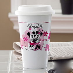 Personalized You're Sweet Mickey and Minnie Mouse Tumbler