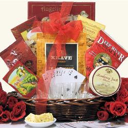 Man Cave Gourmet Gift Basket