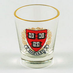 Harvard University Shot Glass