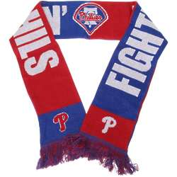 Philadelphia Phillies Slogan Scarf