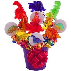 Dinos Are Back Lollipop Bouquet