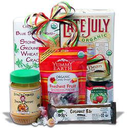 Organic Foods Gourmet Gift Basket