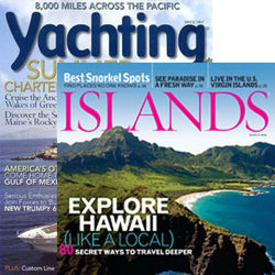 Islands and Yachting Magazines 22 Issues Combo Subscription