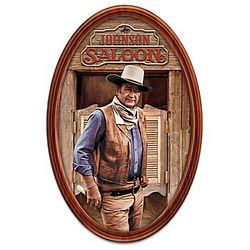 The Duke John Wayne Masterpiece Personalized Framed Plate