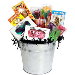 Large Bugs Candy Gift Bucket