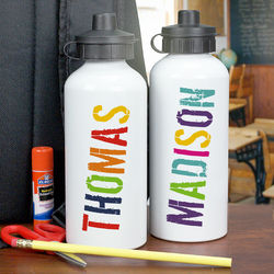 Personalized Any Name Water Bottle