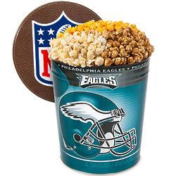 3 Gallons of Popcorn in Philadelphia Eagles Tin