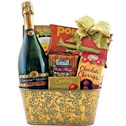 Champagne Chiller Gift Basket