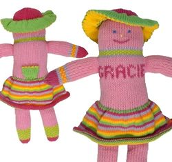 Gracie the Personalized Tooth Fairy Knit Pal