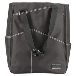 Maggie Mather Black Tennis Tote