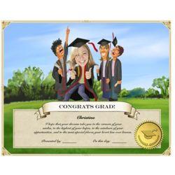 Graduation-Commencement Certificate