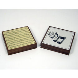Musical Notes Paperweight