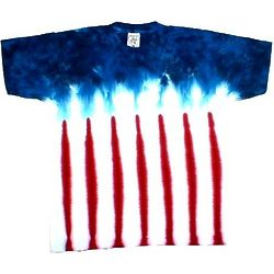 American Flag Tie Dye Shirt