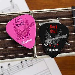 Rockstar Personalized Guitar Picks