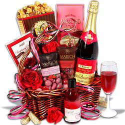 Evening of Indulgence Non Alcoholic Gift Basket