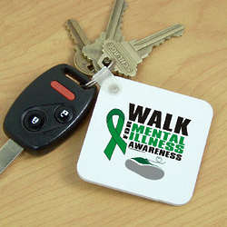 Walk For Mental Illness Awareness Key Chain