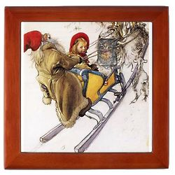 Sleigh Ride Christmas Keepsake Box