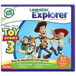 Leapfrog Leapster Explorer Toy Story 3 Game
