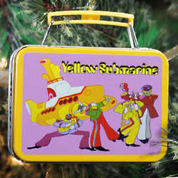The Beatles Yellow Submarine Lunch Box Ornament