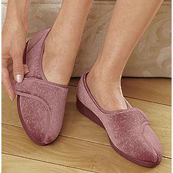 Jewel Velour Slippers