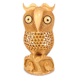 Night Owl Mom Wood Statuette