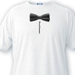 Bow Tie Custom Groomsman T-Shirt
