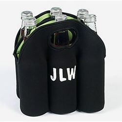 Personalized Six-Bottle Neoprene Cooler