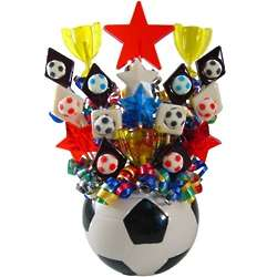 Soccer Mania Lollipop Bouquet