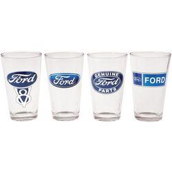 Ford Logo Pint Glasses