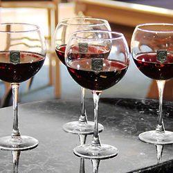 Regal Crest Monogrammed Red Wine Glasses