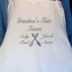 "Personalized ""Family Design"" Apron"