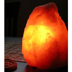 Polish Salt Crystal Lamp