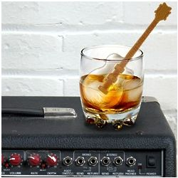 Cool Jazz Guitar Ice Cube Tray