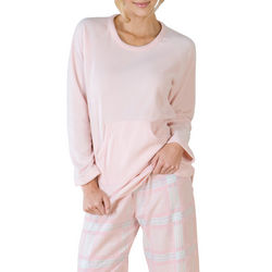 Think Pink Plaid Lounge Set