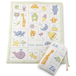 Baby's Alphabet Quilt
