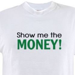Show Me The Money Jerry Maguire Movie T-Shirt