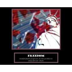 Freedom Premium Luster Print