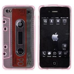 Cassette Tape Design Silicone Phone Case